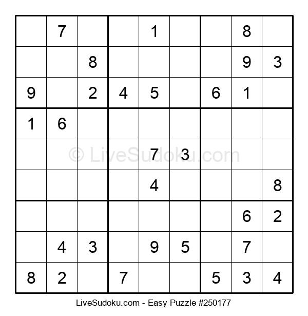 Beginners Puzzle #250177