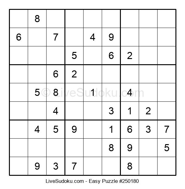 Beginners Puzzle #250180
