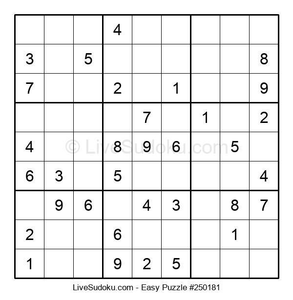 Beginners Puzzle #250181