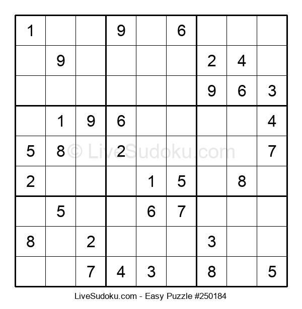 Beginners Puzzle #250184