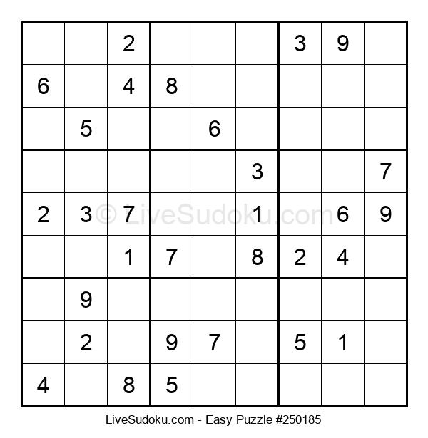 Beginners Puzzle #250185