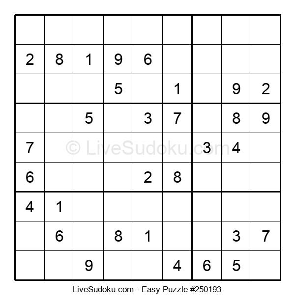 Beginners Puzzle #250193