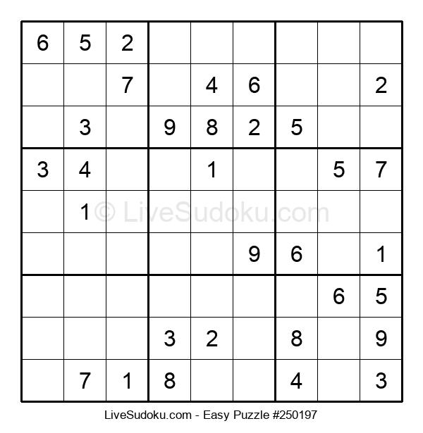 Beginners Puzzle #250197