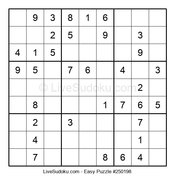 Beginners Puzzle #250198