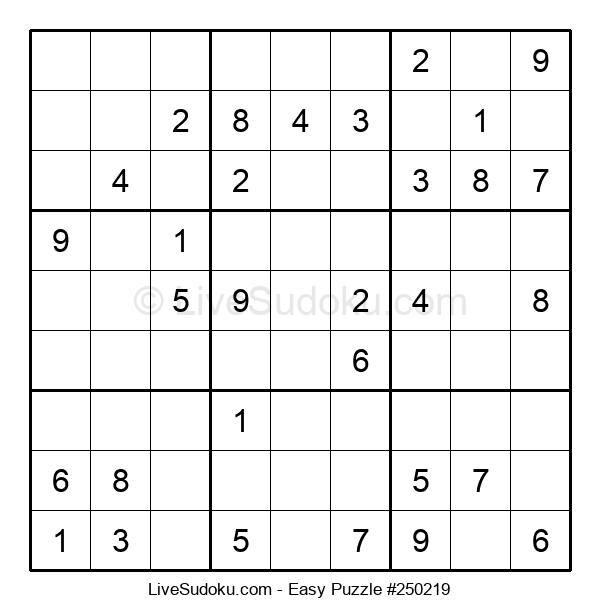 Beginners Puzzle #250219