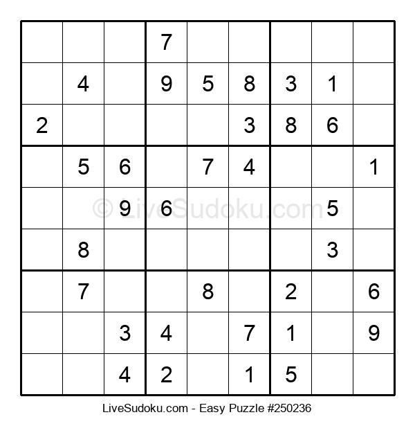 Beginners Puzzle #250236