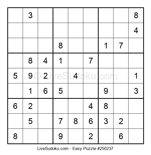 Beginners Puzzle #250237