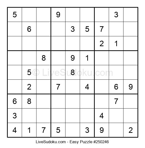 Beginners Puzzle #250246