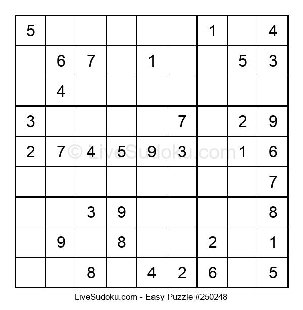Beginners Puzzle #250248