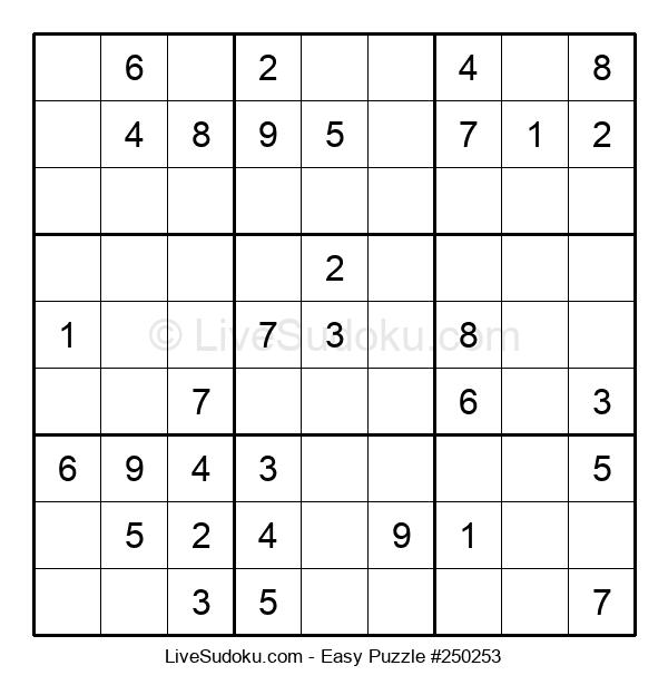 Beginners Puzzle #250253