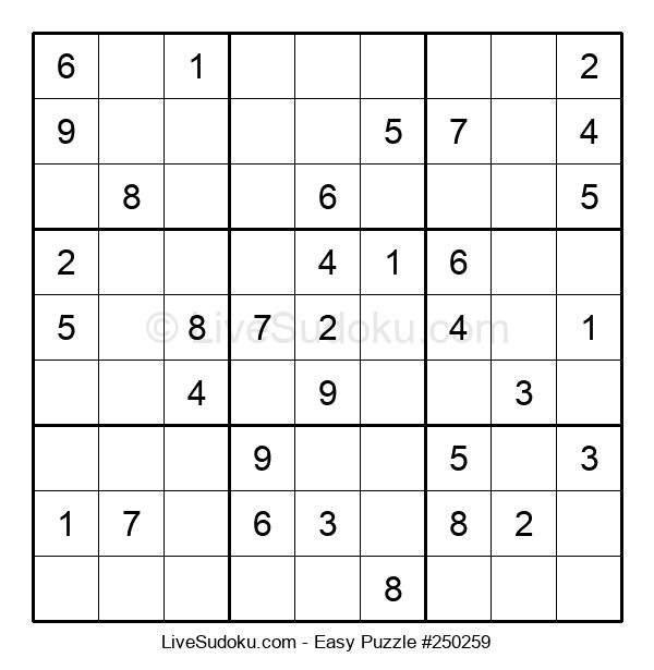 Beginners Puzzle #250259