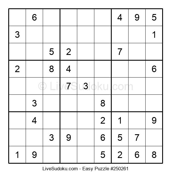 Beginners Puzzle #250261