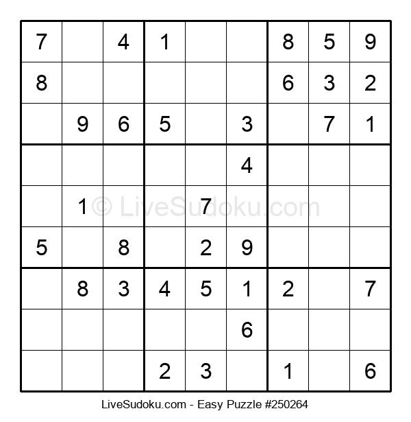 Beginners Puzzle #250264