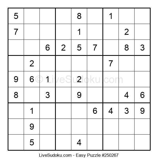 Beginners Puzzle #250267