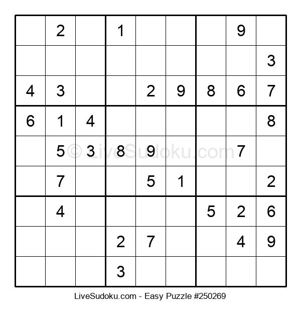 Beginners Puzzle #250269
