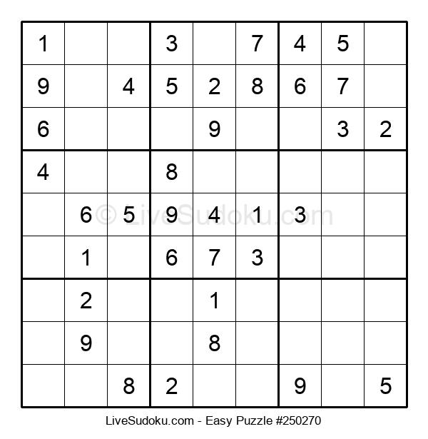 Beginners Puzzle #250270