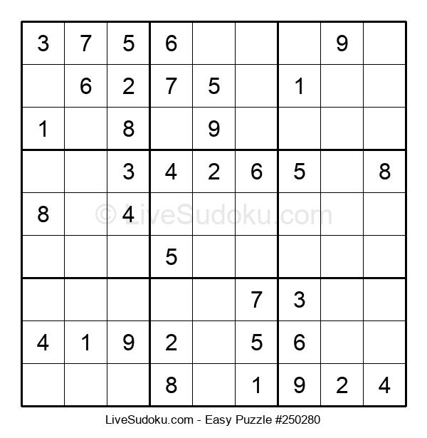 Beginners Puzzle #250280