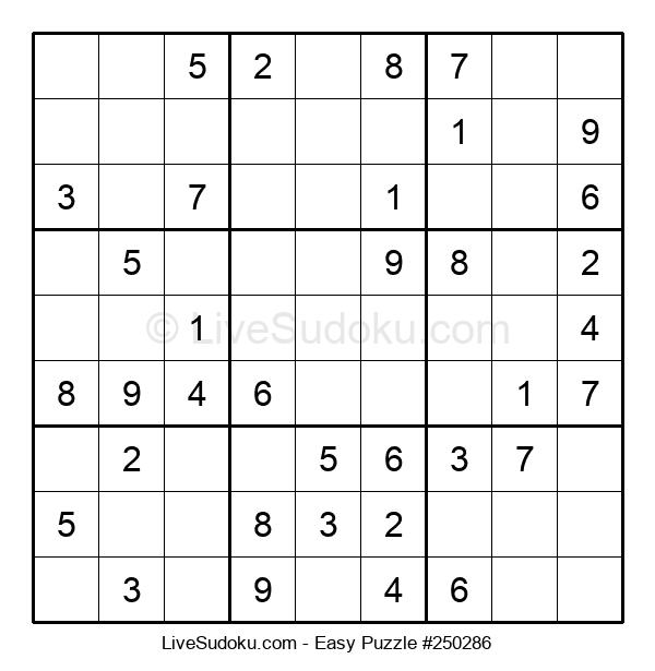 Beginners Puzzle #250286