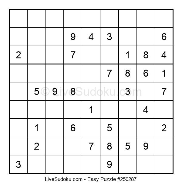 Beginners Puzzle #250287