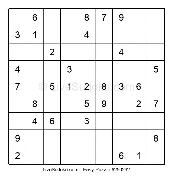 Beginners Puzzle #250292