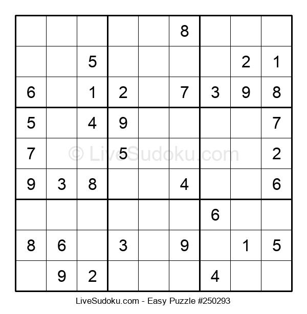 Beginners Puzzle #250293