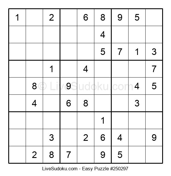 Beginners Puzzle #250297