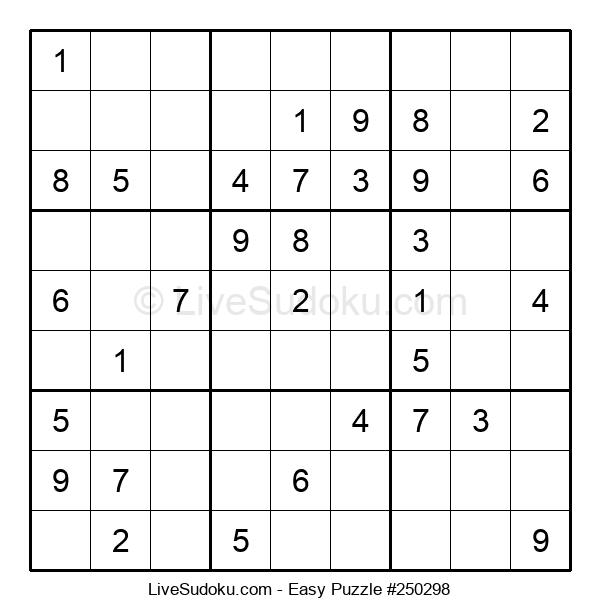 Beginners Puzzle #250298