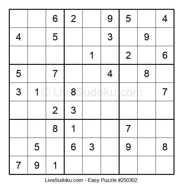 Beginners Puzzle #250302