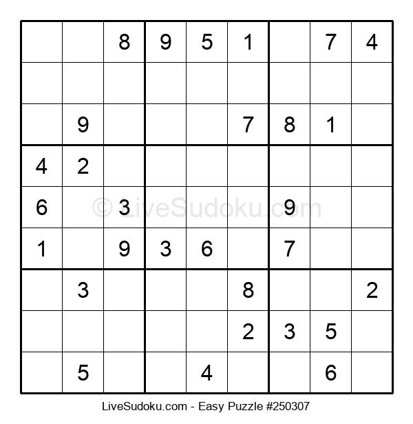 Beginners Puzzle #250307