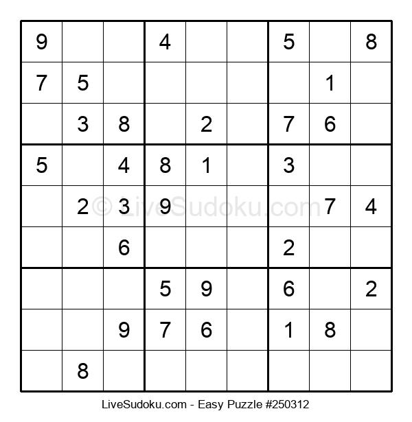 Beginners Puzzle #250312