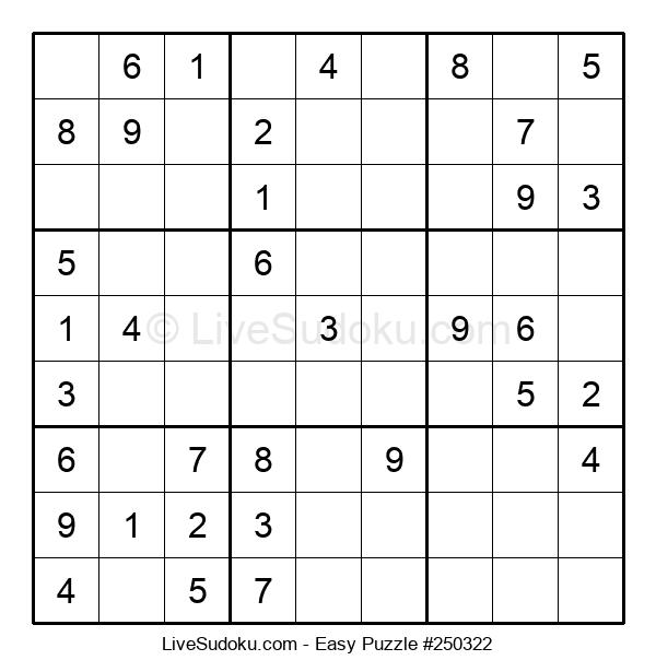 Beginners Puzzle #250322