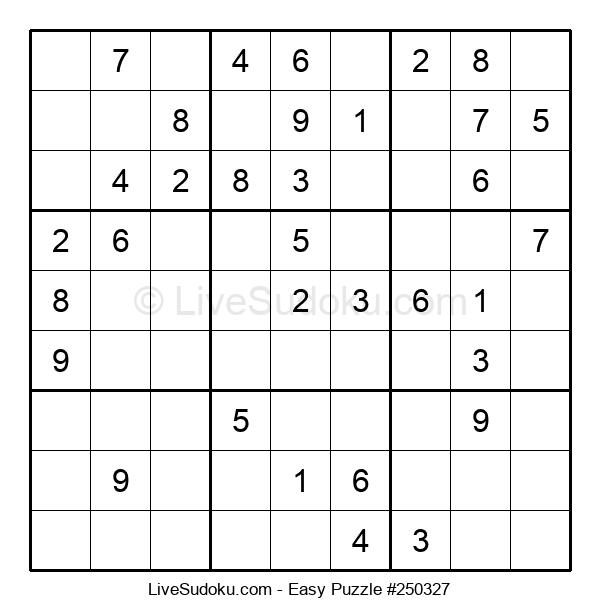 Beginners Puzzle #250327