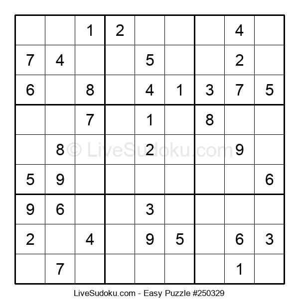 Beginners Puzzle #250329