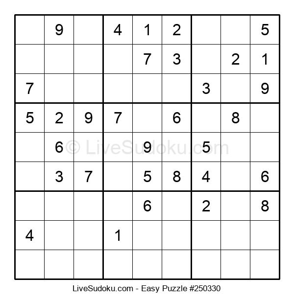 Beginners Puzzle #250330