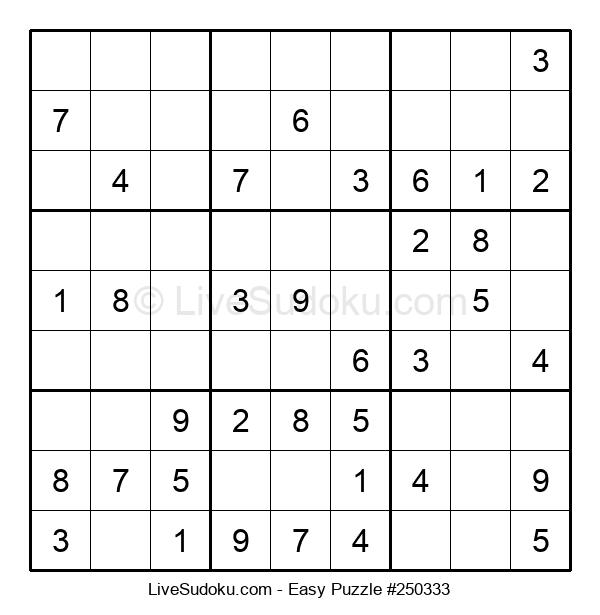Beginners Puzzle #250333