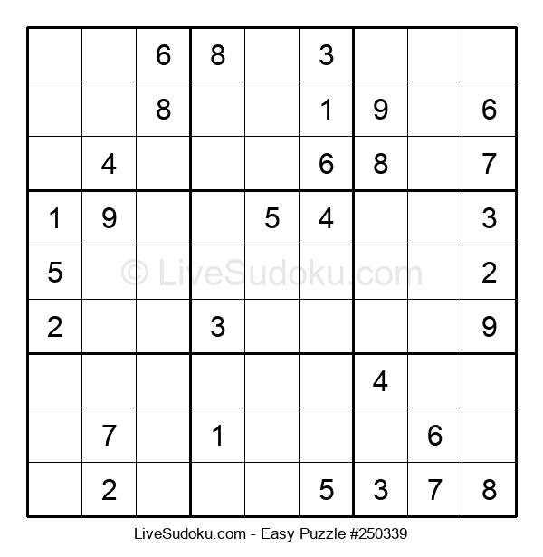 Beginners Puzzle #250339