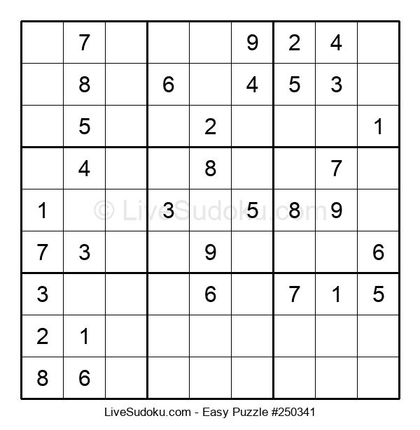 Beginners Puzzle #250341