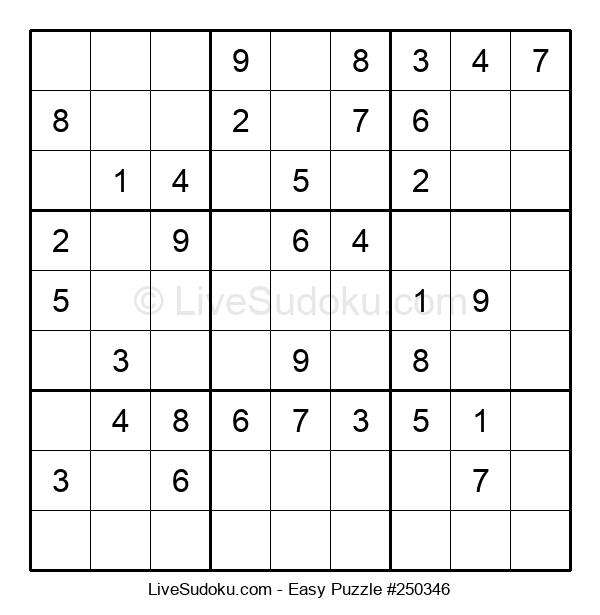 Beginners Puzzle #250346