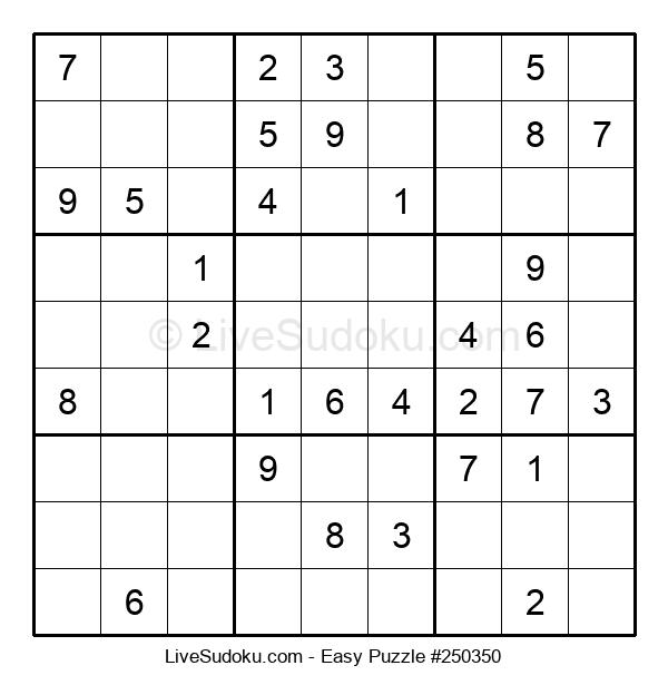 Beginners Puzzle #250350
