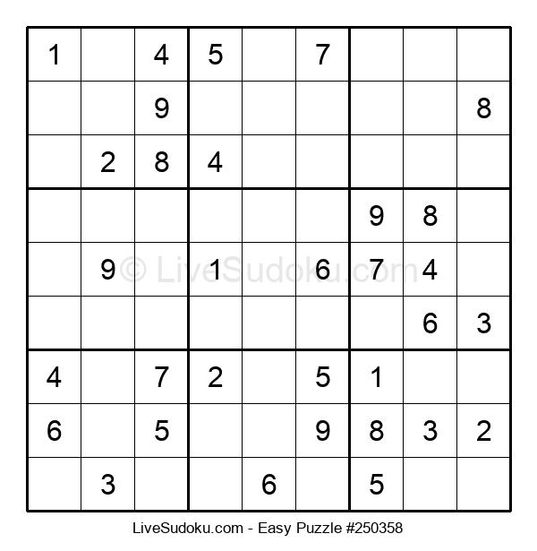 Beginners Puzzle #250358