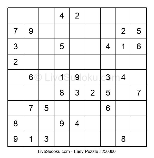 Beginners Puzzle #250360