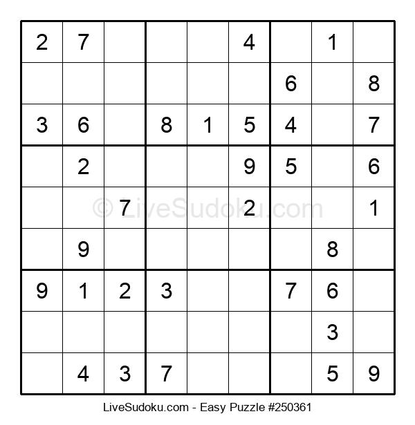 Beginners Puzzle #250361