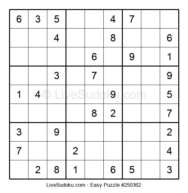 Beginners Puzzle #250362