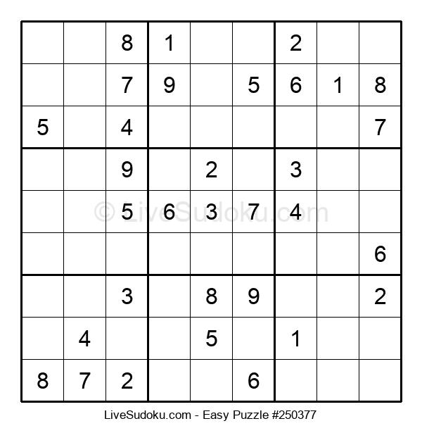 Beginners Puzzle #250377