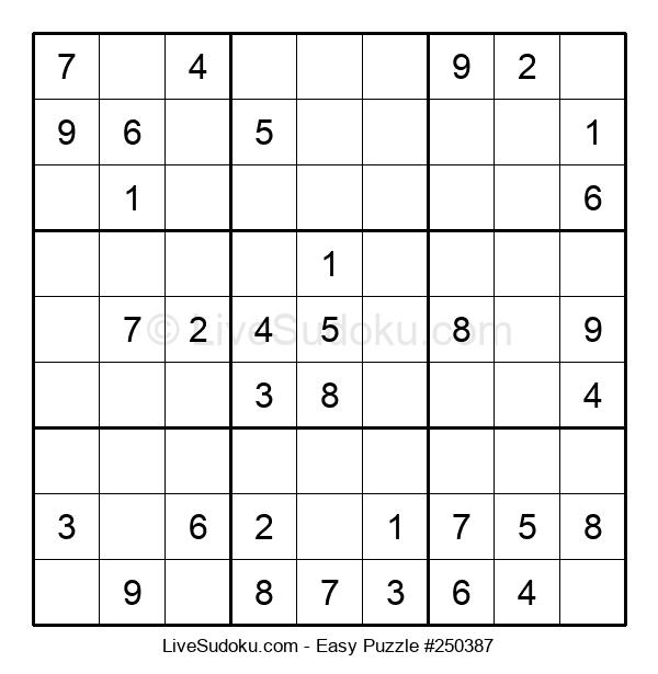 Beginners Puzzle #250387
