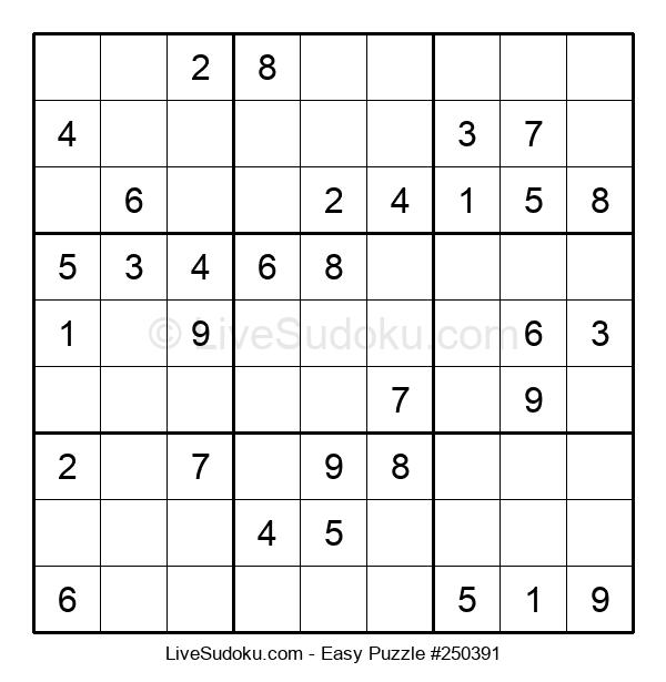 Beginners Puzzle #250391