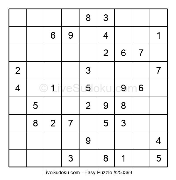 Beginners Puzzle #250399