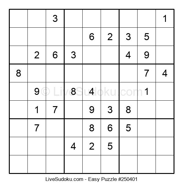Beginners Puzzle #250401