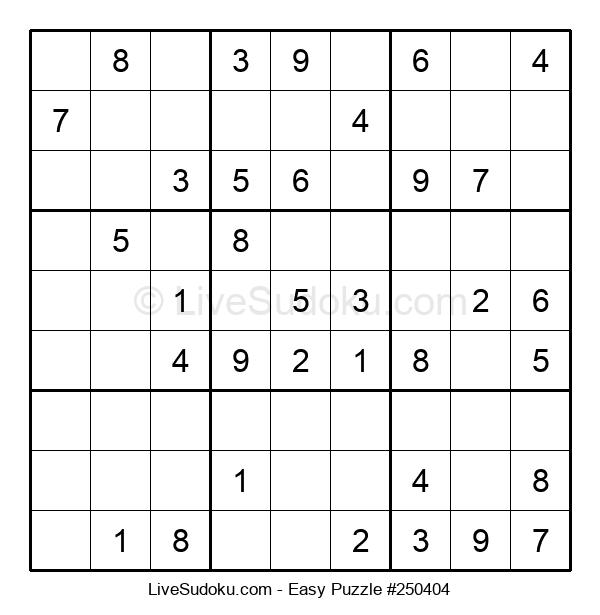 Beginners Puzzle #250404
