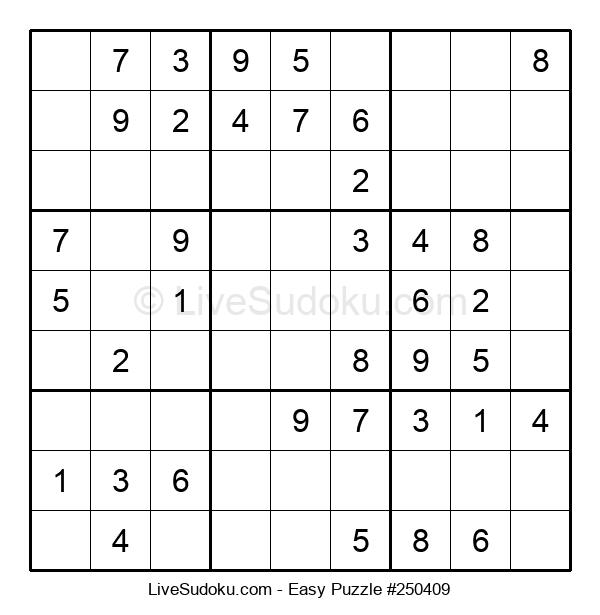 Beginners Puzzle #250409